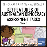 Key Features of Australian Democracy Assessment (Year 5 HASS)