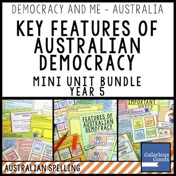 Key Features of Australian Democracy Mini Unit Bundle (Yea