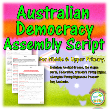 Australian Democracy Assembly Script
