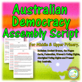 Australian Democracy Assembly Script