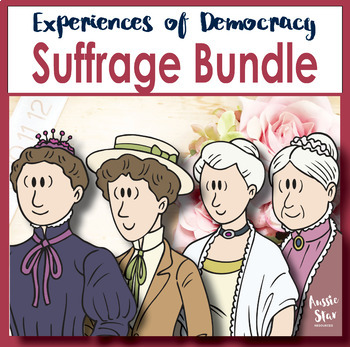 Australian Democracy - Women's Suffrage Bundle