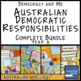Australian Democratic Responsibilities COMPLETE BUNDLE (Year 6 HASS)