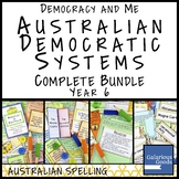 Australian Democratic Systems COMPLETE BUNDLE (Year 6 HASS)