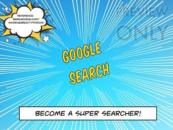 Digital Technologies - Become A Google Super Searcher!