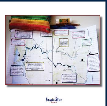 Australian Explorers – Charles Sturt - Murray River Mapping Activity
