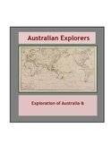 History: Exploration of Australia and by Australians/ Distance Learning