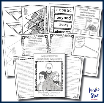 Australian Explorers - Blaxland, Lawson and Wentworth BUNDLE SAVE 30%!