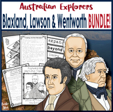 Australian Explorers - Blaxland, Lawson & Wentworth Complete Activity Pack