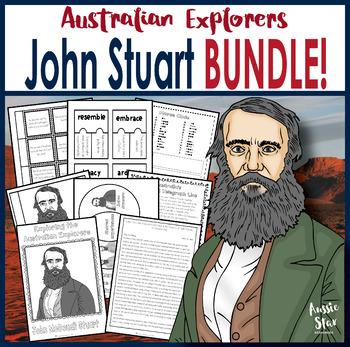 Australian Explorers - John Stuart BUNDLE SAVE 30%!