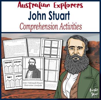 Australian Explorers -John Stuart Comprehension Activities