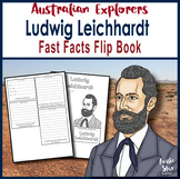 Australian Explorers - Ludwig Leichhardt - Fast Facts Flip Book