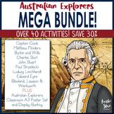 Australian Explorers Complete Unit- MEGA BUNDLE! SAVE 30%