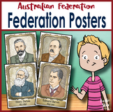 Australian Federation Famous Faces Wall Posters