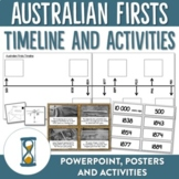 Australian Firsts Timeline Posters and Activities