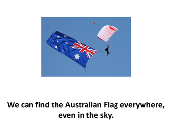Australian Flag intermediate reader