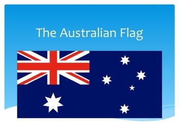 Australian Flag presentation, Union Jack, Commonwealth Star and Southern Cross