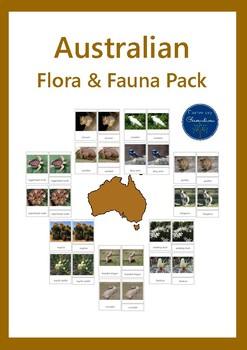 Australian Flora & Fauna 3 Part Cards