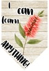 Australian Flora Growth Mindset Posters