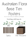 Australian Flora Theme MAB/Base Ten Posters