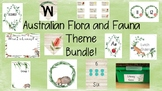 Australian Flora and Fauna Theme Bundle