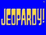 Australian Geography, Government, History and Culture Jeopardy Review Game