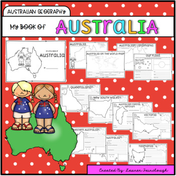 Australian Geography - My Book of Australia