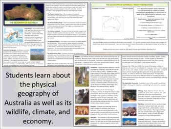Australian Geography - Project