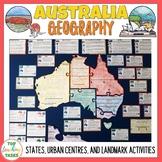 Australia Geography and Landmarks Unit