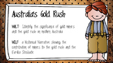 Australian Gold Rush & Eureka Stockade Activites and Assessment