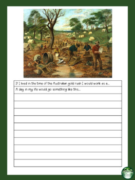 Australian Gold Rush Pack - Timeline Cards, Games, Writing Prompts and More