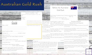 Australian Gold Rush and Eureka Stockade