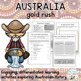 Australian Gold Rush Activity Unit