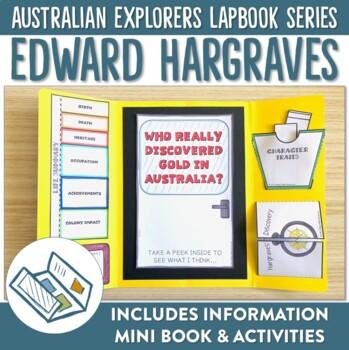 Australian Goldrush Edward Hargraves Lapbook Activities