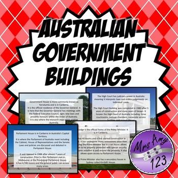 Australian Government Buildings