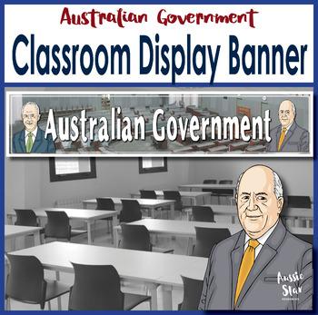 Australian Government Classroom Display Banner
