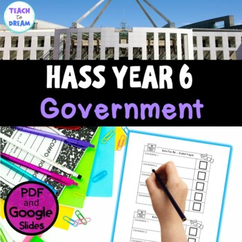 Australian Government Research Project, Year 6 Australian