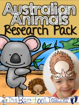 Australian Habitat Pack - 200 pgs. of non-fiction Australian habitat fun!