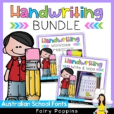 Handwriting Worksheets Bundle {Australian School Fonts}