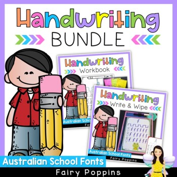 Australian Handwriting Bundle - Lower Case & Upper Case Letters