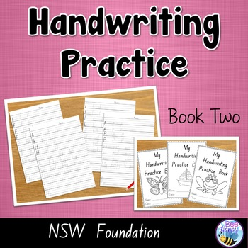 Nsw Foundation Handwriting Worksheets | Teachers Pay Teachers