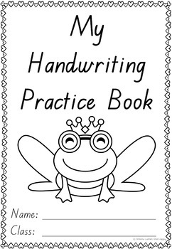 Australian Handwriting Practice Book 2 Queensland Beginners Font