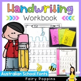 Handwriting Worksheets {Australian School Fonts}