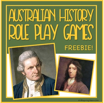 FREE Australian Historical Figure Masks for Drama and Role Play Games