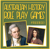 FREE Aus Historical Figure Masks for Distance Learning Dra
