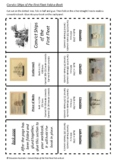 Australian History - Convict Ships of the First Fleet Fold-a-Book Activity