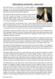 James Cook - Captain - Early Explorers of Australia - Australian History