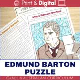 Australian Federation - Edmund Barton