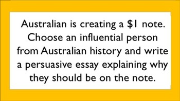 Australian History Task Cards - Multiple Intelligences and Blooms Taxonomy