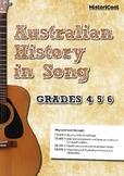 Australian History in Song: Activities for Grades 4, 5 & 6