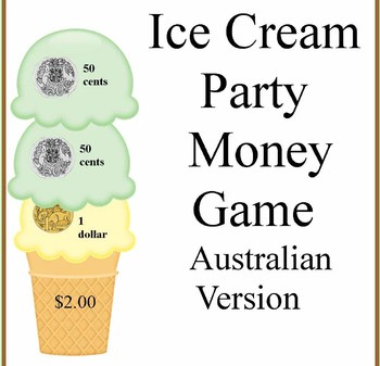 Australian Ice Cream Party Money Game